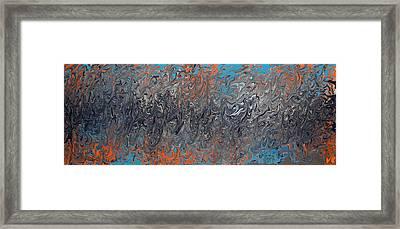 Trouble 2 Nite Framed Print by Cyryn Fyrcyd