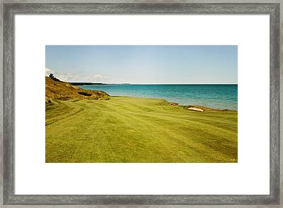 Trouble On The Right Side Framed Print