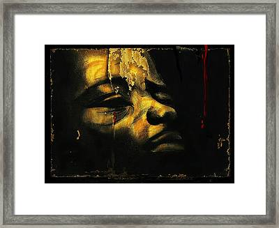 Troubled  Africa Framed Print