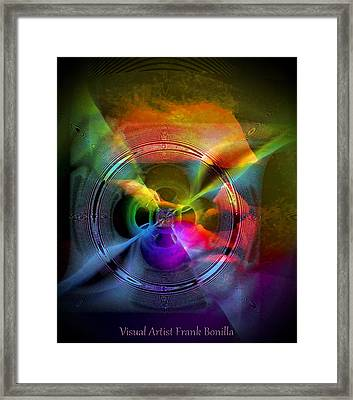 Troubled Mind Framed Print by Visual Artist  Frank Bonilla