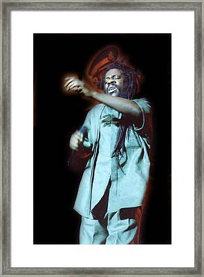 Troubled Soul Framed Print