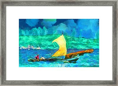 Troubled Water Framed Print