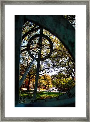 Troup Square Armillary Framed Print