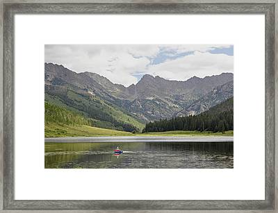 Trout Haven Framed Print by RJ Martens