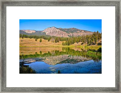 Trout Lake Reflections Limited Edition Framed Print