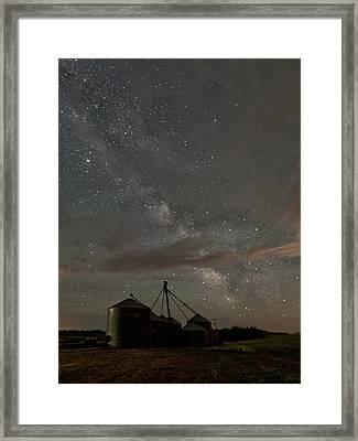 Troy Milky Way Framed Print by Latah Trail Foundation