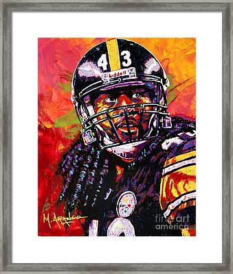 Troy Polamalu Framed Print