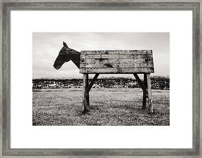 Troy Revisited Framed Print by Arkady Kunysz