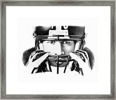 Troy Framed Print by Scott Karan