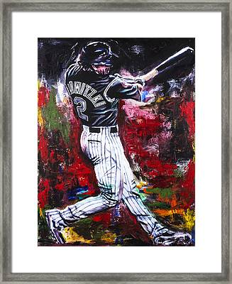 Troy Tulowitzki Framed Print