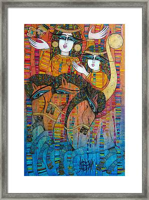 Troyka Framed Print