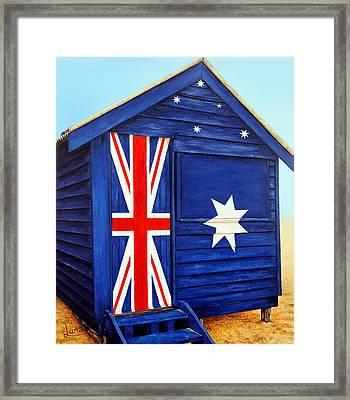 Tru-blu Framed Print