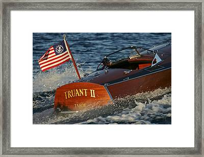 Top Gallant Framed Print by Steven Lapkin