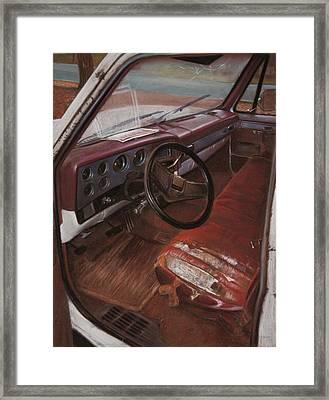 Truck For Sale Framed Print