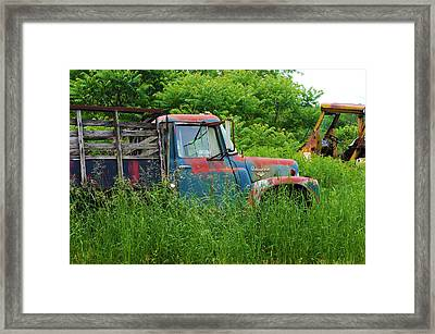Truck Plant Framed Print by Kenneth Feliciano