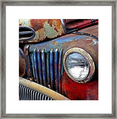 Truck Framed Print by Tom Kiebzak