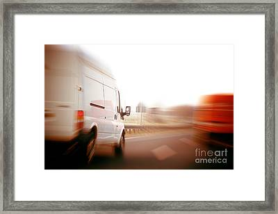 Trucks Framed Print