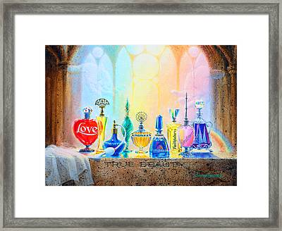 True Beauty Framed Print
