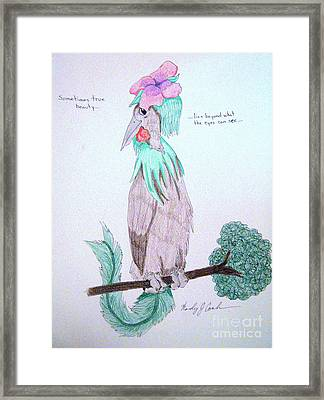 True Beauty Framed Print by Wendy Coulson