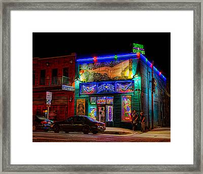 Framed Print featuring the photograph True Blue Tattoos by Tim Stanley