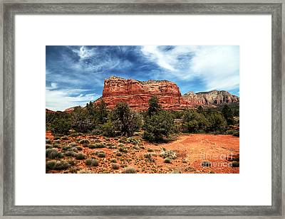 True Colors In Sedona Framed Print by John Rizzuto