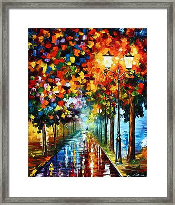True Colors Framed Print by Leonid Afremov