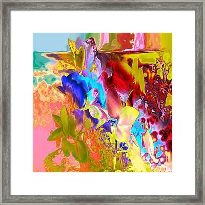 True Colours Framed Print by Soumya Bouchachi