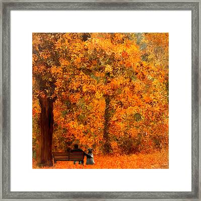 True Companion Framed Print by Lourry Legarde