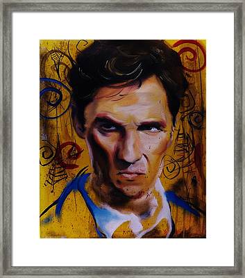 True Detective Matthew Mcconaughey Framed Print