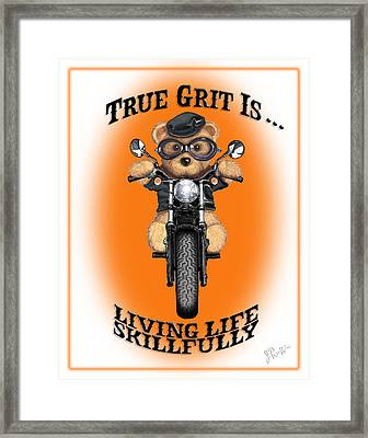 True Grit Framed Print by Jerry Ruffin