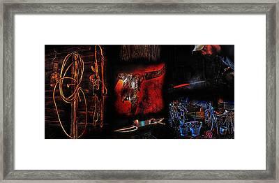 True Grit Framed Print by Terril Heilman