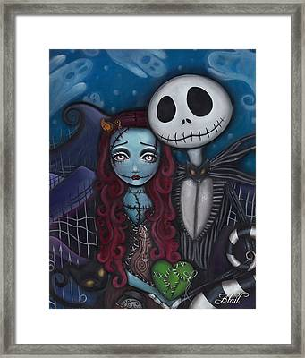 True Love  Framed Print by  Abril Andrade Griffith