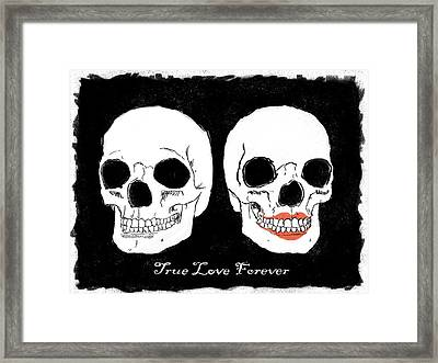 True Love Forever Framed Print by RG McMahon