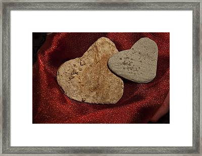 Framed Print featuring the photograph True Love Is Blind by Lena Wilhite