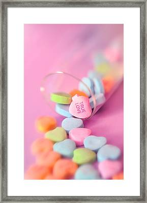 True Love Framed Print by Marianne Campolongo