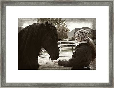 True Love Framed Print by Royal Grove Fine Art