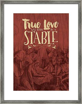 True Love Framed Print by Tammy Apple