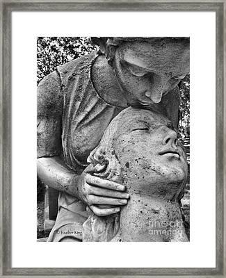 Framed Print featuring the photograph True Love Waits by Heather King