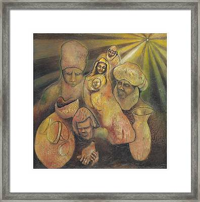 'true Reverence' Framed Print