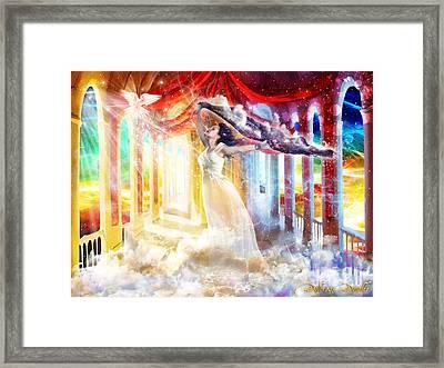 True Worshiper  Framed Print by Dolores Develde