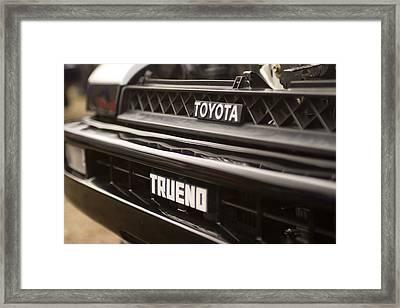 Trueno Framed Print