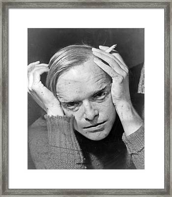 Truman Capote Framed Print by Mountain Dreams