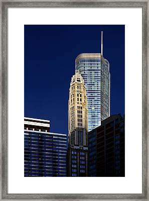 Trump International Hotel And Tower Chicago Framed Print