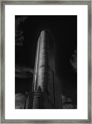 Trump Tower Chicago Framed Print by David Haskett