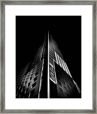 Trump Tower Toronto Canada Framed Print by Brian Carson