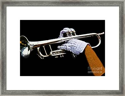 Trumpet Framed Print by Tom Gari Gallery-Three-Photography