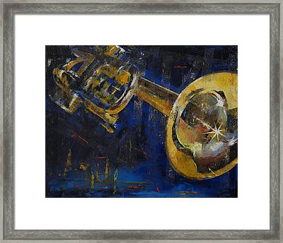 Trumpet Framed Print by Michael Creese