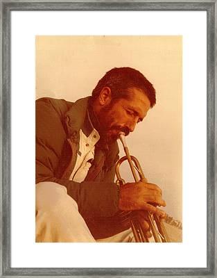 Trumpeter Framed Print