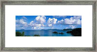 Trunk Bay St John Us Virgin Islands Framed Print