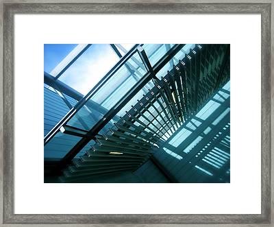 Trusses Framed Print by Jon Berry OsoPorto